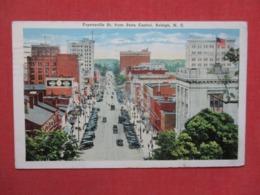 Fayetteville Street  Raleigh   North Carolina   Ref 3684 - Raleigh