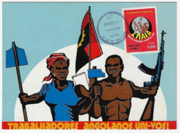 Maximum Card - Angola - Dia Internacional Do Trabalhador - Luanda 1976 - Angola