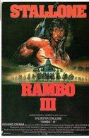 STALLONE - RAMBO III   (Z198) - Afiches En Tarjetas