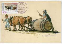 Maximum Card - Portugal - Zorra Para Transporte De Vinho - Funchal 1983 - Cartoline Maximum