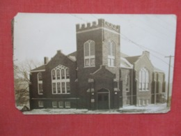 To Identify  RPPC  NJ Church ??? Ref 3684 - Postcards
