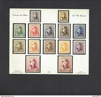 Herdruk In Originele Kleuren 165-178 - Proofs & Reprints