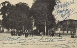 CHERBOURG  La Gare D' Arrivée Et L'Avenue F  Millet + Cachet Militaire RV - Cherbourg