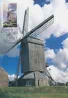 Carte  Maximum  1er   Jour   FRANCE   Moulin  Du  NORD    HONDSCHOOTE    2004 - Maximumkarten