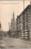 31py 1539 CPA - MAISONS LAFFITTE - L'EGLISE ET LA RUE DU FOSSE - Maisons-Laffitte