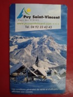 France Cable Car Cards,  (1pcs) - France