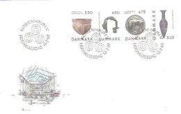 FDC DINAMARCA  1992 - Arqueología