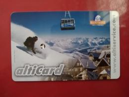France Cable Car Cards,  (1pcs) - Unclassified