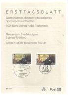 ERSTTAGBLATT ALEMANIA  1995 - Química
