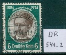 DR 1934  MiNr. 541       O / Used  (L724) - Oblitérés