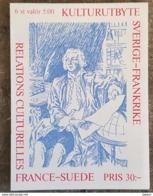 Carnet N° C 1794 _ Relations Culturelles France-Suède 1994 ** - Suède