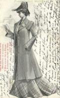 Illustrateur Poésie Nos Maitres Jeune Femme Lisant Un Poéme  De Victor Hugo  RV  Cachets Camaré Fayet Aveyron - Frauen