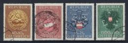 AUSTRIA 1949 PRO PRISONERS OF THE WAR Nº 773/776 - 1945-.... 2ème République