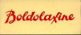 Buvard    21 X 9   Boldolaxine - Produits Pharmaceutiques