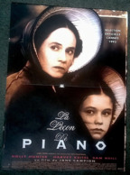 Aff Ciné Orig LA LEÇON DE PIANO (Jane Campion/93) 40X60 Holly Hunter Anna Paquin - Plakate & Poster