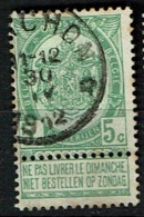 56  Obl Relais Barchon  + 30 - 1893-1907 Coat Of Arms