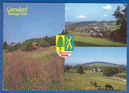 Deutschland; Cursdorf; Thüringer Wald; Multibildkarte - Germania