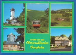 Deutschland; Cursdorf; Thüringer Wald; Multibildkarte Mit Oberweissbacher Bergbahn - Germania