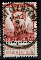 123  Obl Relais  Vorst (Kempen)  + 15 - 1912 Pellens