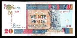 * Cuba 20 Pesos Convertibles 2006  ! UNC ! - Cuba