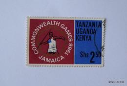 KENYA UGANDA TANZANIA 1966. Eighth British Empire And Commonwealth Games, Jamaica-Games Emblem. SG 230 Used. - Kenia (1963-...)