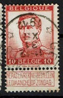 118  Obl Relais  Gentines + 8 - 1912 Pellens