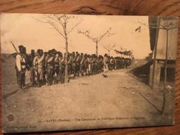 CPA, KAYES MALI Actuel (Soudan), Une Compagnie De Tirailleurs Sénégalais, 2è Régiment, Collection Albaret, Non écrite - Mali
