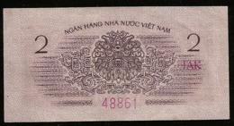* Vietnam 2 Xu 1964 ! RARE ! - Vietnam