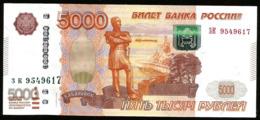 * Russia 5000 Rubles 1997 ! UNC ! - Rusland