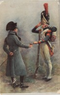 Thematiques Orange Napoléon Offrant Une Prise A Un Grenadier Salon De Paris - Personnages Historiques