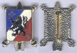 Insigne Du Commandement De L'Artillerie Du 3e Corps D'Armée De La 2e Région Militaire - Armée De Terre