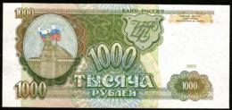 * Russia 1000 Rubles 1993 ! UNC ! - Rusland