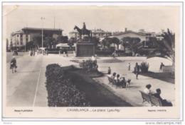 CASABLANCA - La Place Lyautey - Casablanca