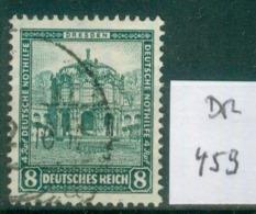 DR 1931  MiNr.  459     O / Used  (L758) - Oblitérés