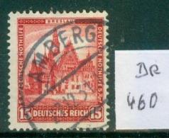 DR 1931  MiNr.  460     O / Used  (L758) - Oblitérés