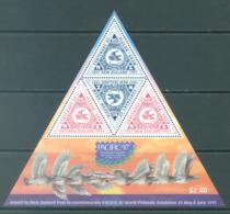 NEW ZEALAND - MNH/** - 1997 - PACIFIC 97 PIGEONS  - Yv 115 -  Lot 20621 - Blocs-feuillets