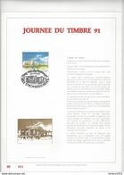 Feuillet D'art Tiré Sur Presse à Main Nr 041 Met Zegels Nr 2404 - Belgique