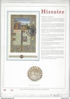 Feuillet D'art Tiré Sur Presse à Main Nr 100 Met Zegels Nr BL68 - Belgique