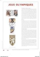 Feuillet D'art Tiré Sur Presse à Main Nr 193 Met Zegels Nr 2439 -42 - Belgique