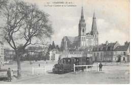 25/13      28   Chartres     Place Chatelet    Le Petit Train     ( Animations) - Chartres