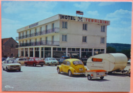 CARTE NORGES LA VILLE - 21 - HOTEL BAR TABAC RESTAURANT - STATION TOTAL -SCAN RECTO/VERSO- 9 - Autres Communes