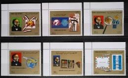 Y31 -  Yemen AR 1981 Mi. 1649-1654 Complete Set 6v. MNH - Sir Rowland Hill, Stamp On Stamp - Yemen