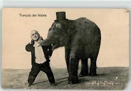 53085304 - Zirkus Busch Elefantenbaby Liliputaner Francois - Métiers