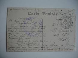 Saint Cyr Ecole Special Militaire    Cachet Franchise Postale Militaire Guerre 14.18 - Marcofilia (sobres)