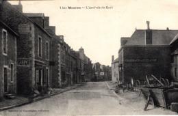 Thematiques 56 Morbihan Mauron L'Arrivée De Gaël Timbré - Other Municipalities