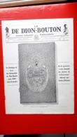 Pub,couverture Du Catalogue  De-Dion-Bouton - Manifesti