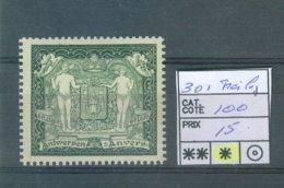 301  Plié X COB 100.00€ - Belgium
