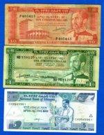 Ethiopie  3  Billets - Ethiopië