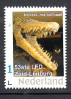 Nederland  Persoonlijke Zegel 20-10-19 Mosasaurus Hoffmani , Limburgse Filatelistendag 20-10-2019 Klimmen - Archeologia