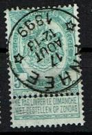 56 Obl Relais  Anhée  + 30 - 1893-1907 Coat Of Arms